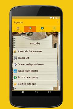 Agenda screenshot 2