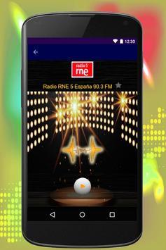 España Radio Musica screenshot 3