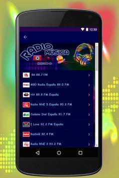 España Radio Musica screenshot 1