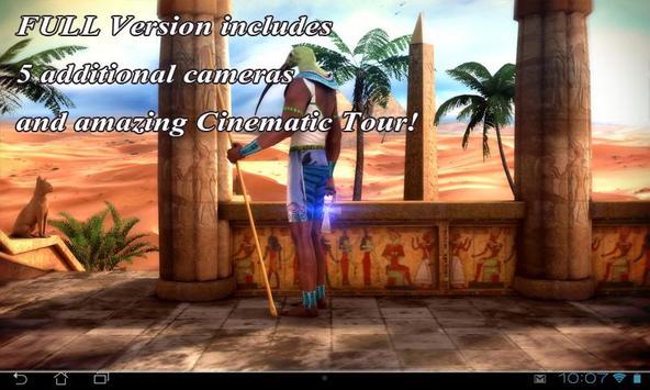 Egypt 3D Free live wallpaper apk screenshot