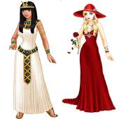 لعبة الفتاة المصرية icon