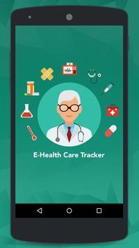 E-Health Care Tracker poster
