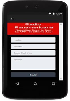 Radio Panamericana PERU apk screenshot