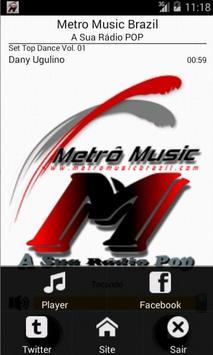 Metro Music Brazil screenshot 1