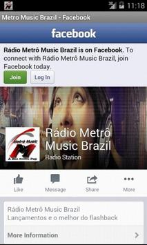 Metro Music Brazil screenshot 2
