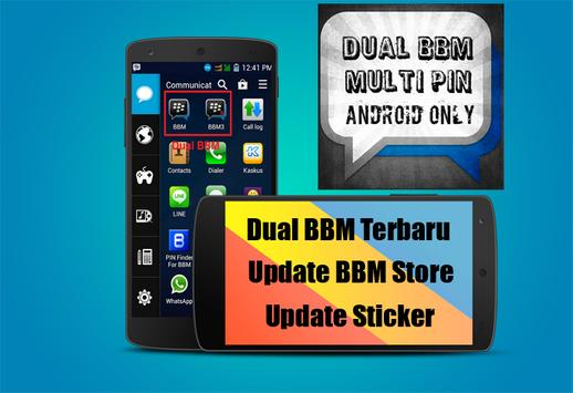 Dual BBM 2016 Newest screenshot 3