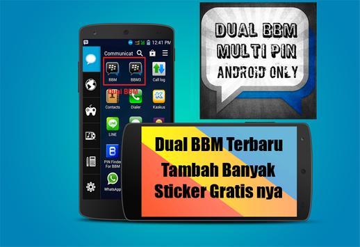 Dual BBM 2016 Newest screenshot 4