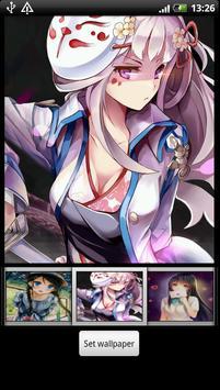 Anime Girl hd Wallpapers screenshot 5