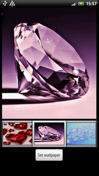 Diamond Heart Live Wallpaper screenshot 4