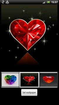 Diamond Heart Live Wallpaper screenshot 5