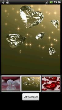Diamond Heart Live Wallpaper screenshot 6