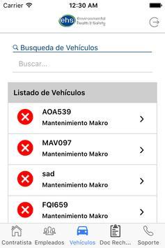 EHS - Control de Contratistas screenshot 3