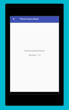 Phone Factory Reset screenshot 14