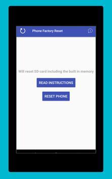 Phone Factory Reset screenshot 10