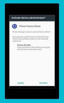 Phone Factory Reset screenshot 12
