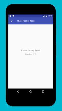 Phone Factory Reset screenshot 4