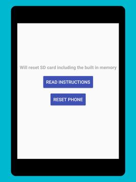 Phone Factory Reset screenshot 5