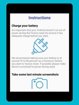 Phone Factory Reset screenshot 6