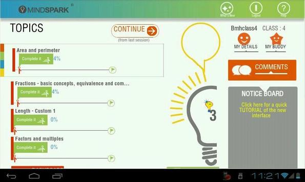 Mindspark screenshot 4