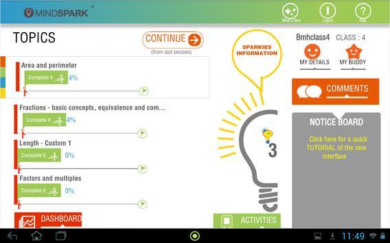 Mindspark screenshot 1