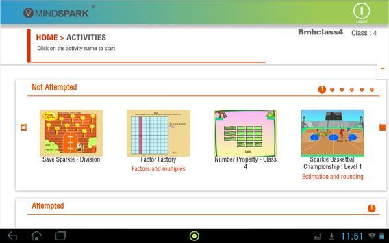 Mindspark screenshot 2