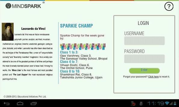 Mindspark apk screenshot
