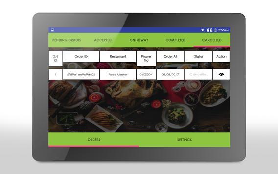 Foodate Business screenshot 1