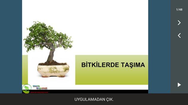 Bitkilerde Taşıma poster
