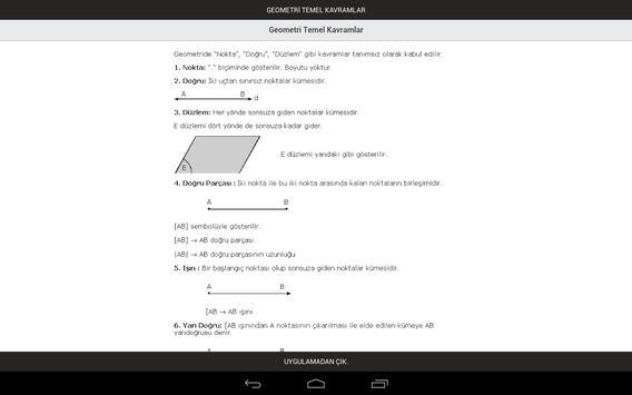 Geometri Temel Kavramlar screenshot 2