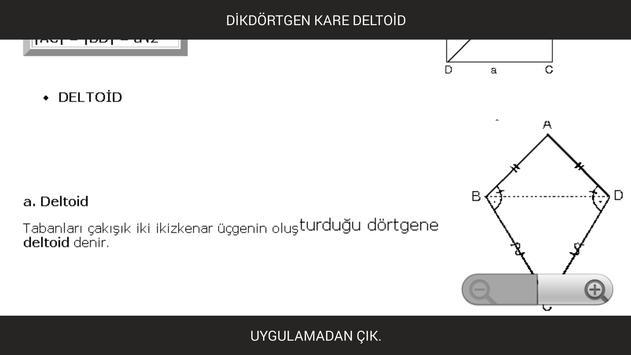 Dikdörtgen Kare Deltoid apk screenshot