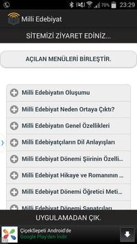 Milli Edebiyat poster
