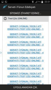 Servet-i Fünun Edebiyatı apk screenshot