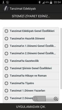 Tanzimat Edebiyatı poster
