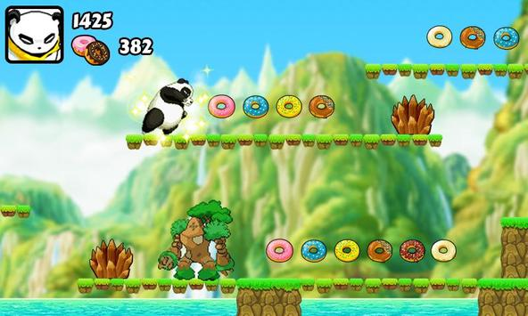 Panda Run: Angry Monster screenshot 3