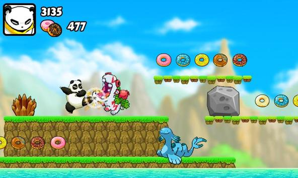 Panda Run: Angry Monster screenshot 1
