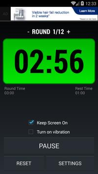 Boxing Interval Timer FREE poster