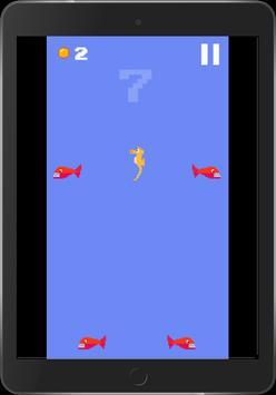 Hungry Seahorse - 8bit Retro Arcade Game screenshot 12