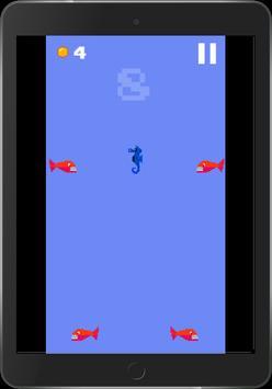 Hungry Seahorse - 8bit Retro Arcade Game screenshot 15