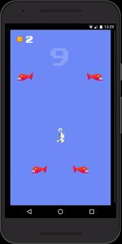 Hungry Seahorse - 8bit Retro Arcade Game screenshot 5
