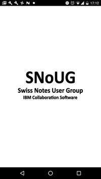 SNoUG 2018 poster