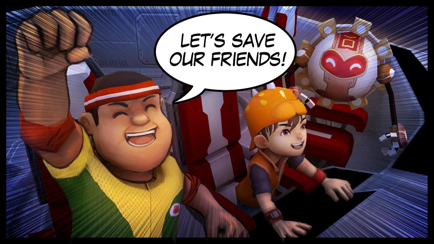 Boboiboy Galactic Heroes Rpg For Android Apk Download