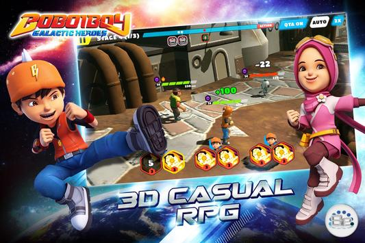 BoBoiBoy: Galactic Heroes RPG мод