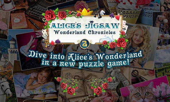 Alice's Jigsaw 2 Free poster
