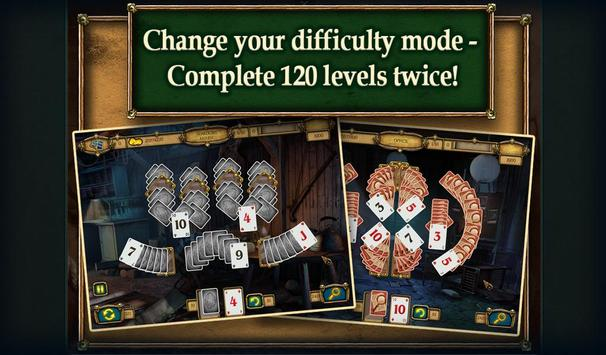 True Detective Solitaire2 Free apk screenshot