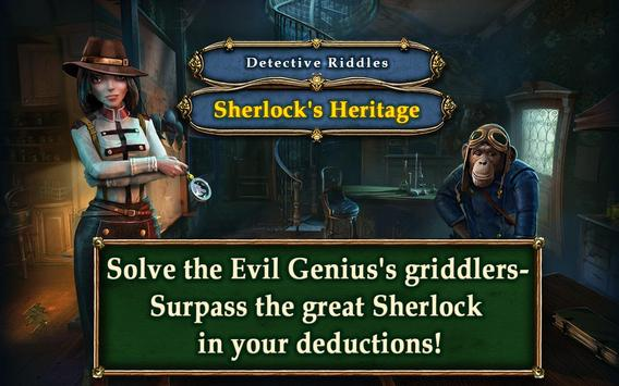 Detective Riddles Free apk screenshot