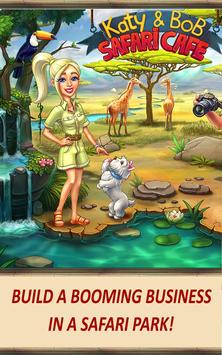 Katy & Bob: Safari Café screenshot 8