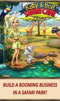 Katy & Bob: Safari Café poster