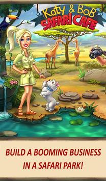 Katy & Bob: Safari Café screenshot 16
