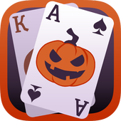 Solitaire Game.Halloween Free icon