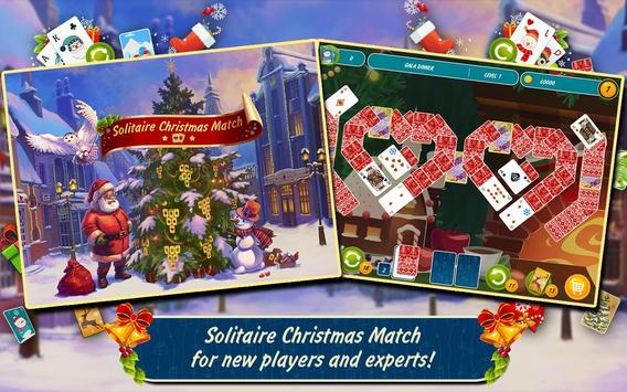 Solitaire Christmas Match Free screenshot 5